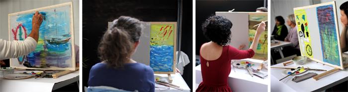Photos Jeanne Frank. Copyright : France Alzheimer. Tous droits réservés.